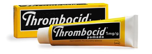 Imagen ampliada del producto THROMBOCID 1 MG/G POMADA 30 G